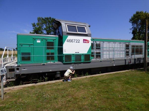 Locomotive 66000 du Train Touristique Etretat Pays de Caux
