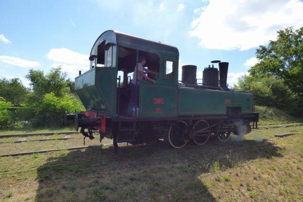 Locomotive 030T de la Transvap en 2017