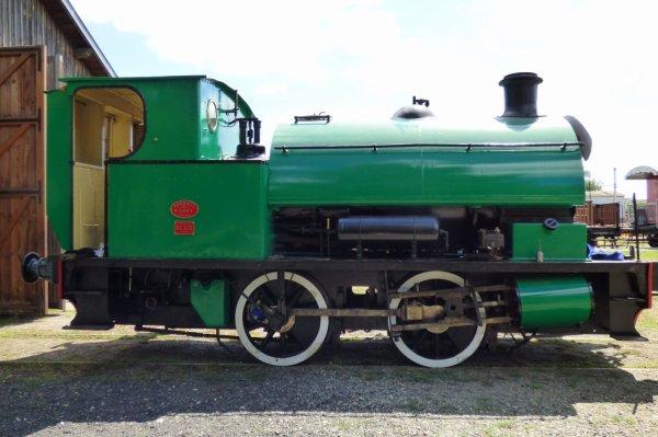 Locomotive 020T de la Transvap en 2017