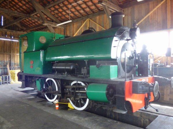 Locomotive 020T de la Transvap en 2019