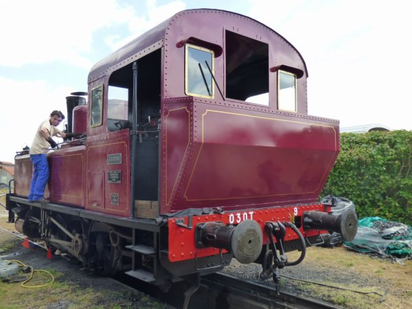 Locomotive 030T de la Transvap en 2019