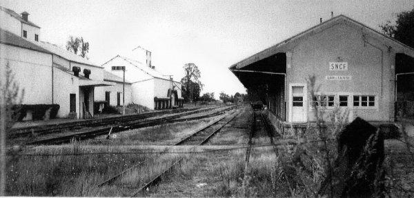 Voies de l'ancienne gare de Falaise