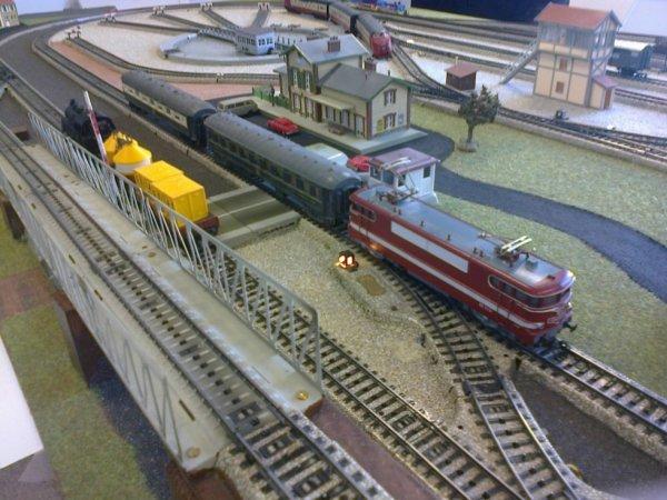 Exposition de trains miniatures à Villers-sur-Mer 2018 - Train en système Marklin