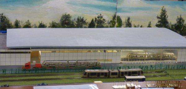Le tramway circulait à Orléans en 2016 en deux échelles