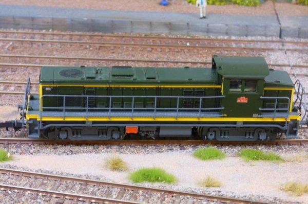 Une locomotive BB63500 à l'exposition de trains miniatures d'Orléans en 2014