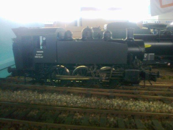 Exposition Le Cercle du Zéro à Val de Rueil (27) 2018 - Locomotive 030TU