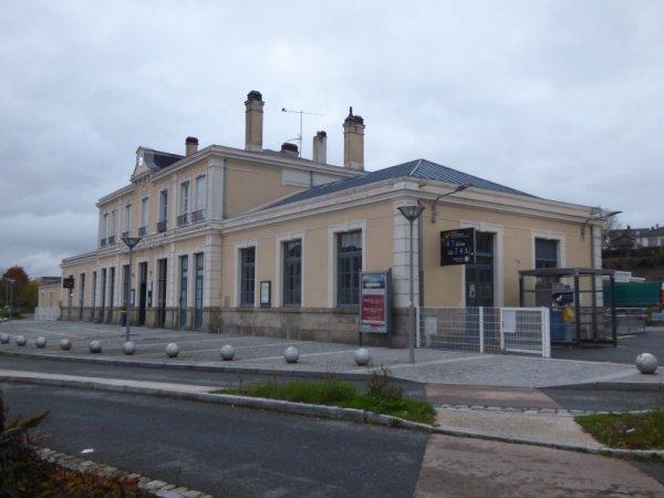 Gare de L'Aigle en 2019