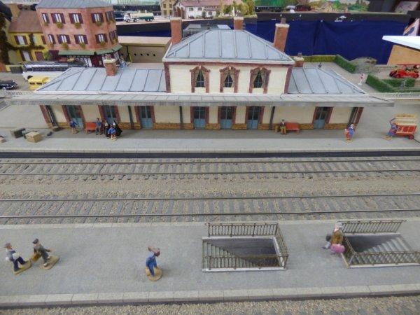 Gare du réseau Zéro du Rail Miniature Caennais