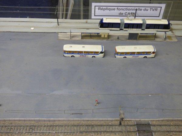 Le Rail Miniature Caennais est le seul endroit de Caen où le TVR roule encore