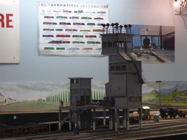 Silo sur le réseau Zéro du Rail Miniature Caennais