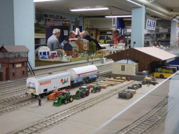 Halle à marchandises du réseau Zéro du Rail Miniature Caennais