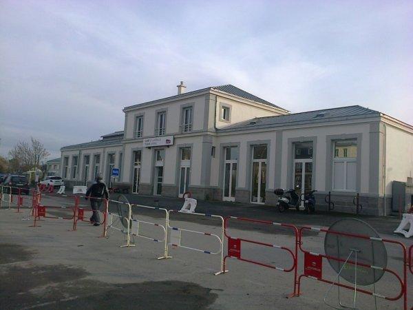 Gare de Lamballe (Cotes d'Armor) en 2019