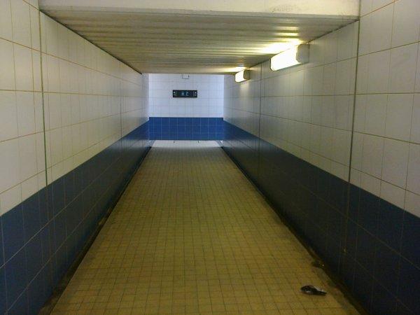 Passage sous-terrain de la gare de Lamballe