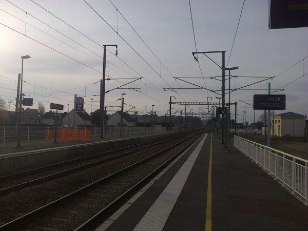 Gare de Lamballe - voies vers Brest