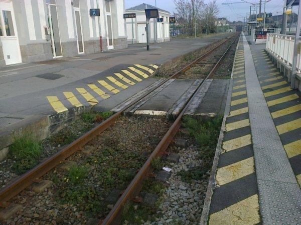 Passage plancheier de la gare de Lamballe