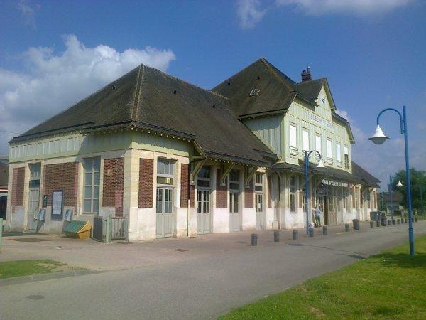 Gare d'Elbeuf Saint Aubin (76)