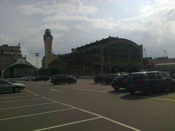 Arrière de la gare de Rouen Rive Droite