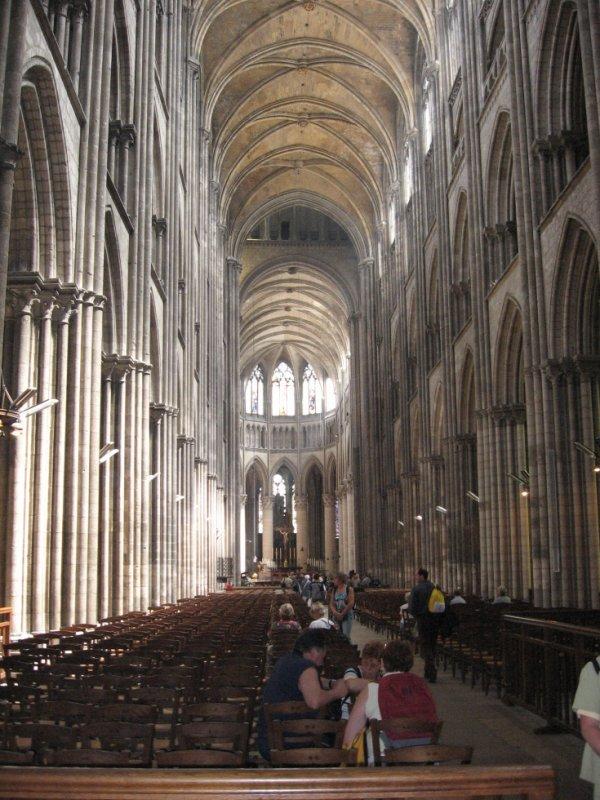 Intérieur de la cathédrale de Rouen