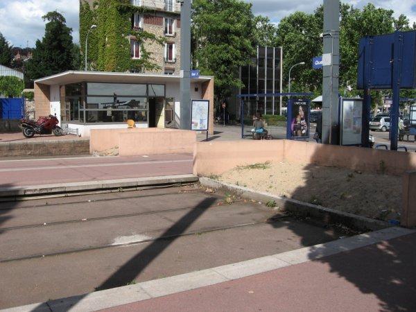 Ancien terminus Boulingrin du métro de Rouen