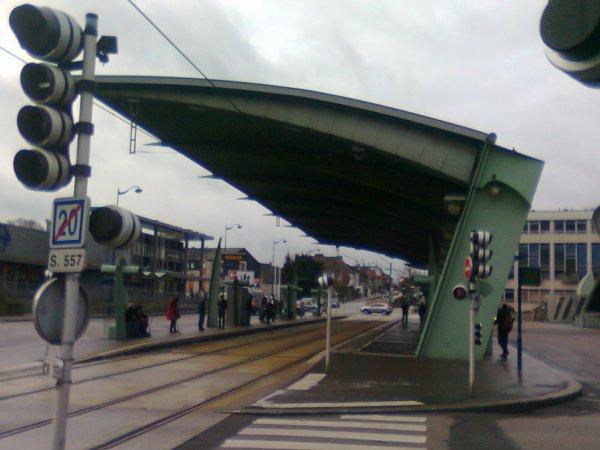 Station du métro Rouennais Mairie de Sotteville