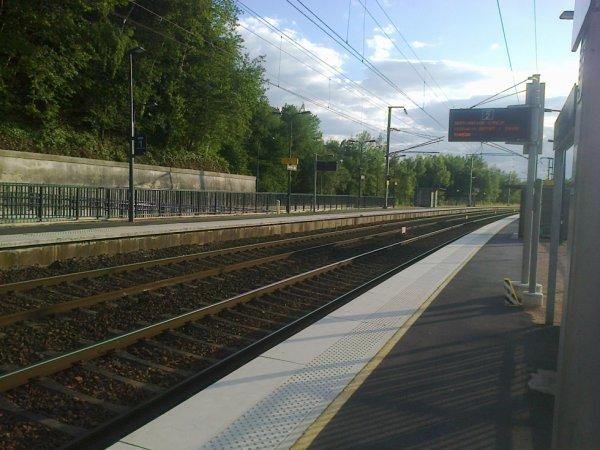 Gare de Conches - Voies vers Caen