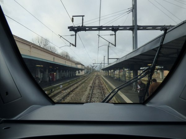 Rameo Omneo - Voies vers Cherbourg vues depuis la cabine de conduite