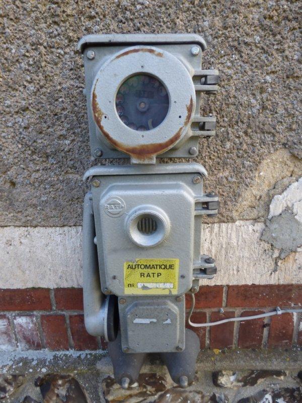 Téléphone de quai à Pacy sur Eure