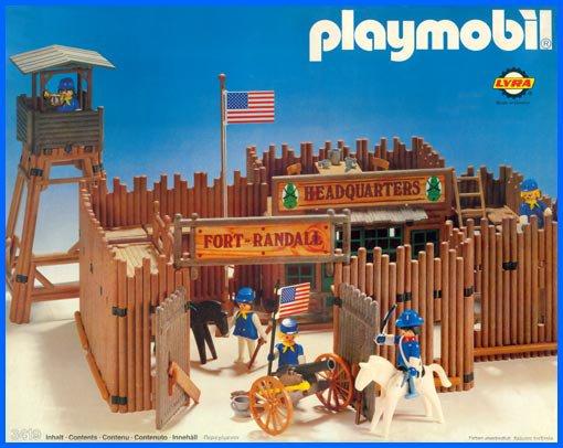Playmobil Fort Bravo 3773 Instructions