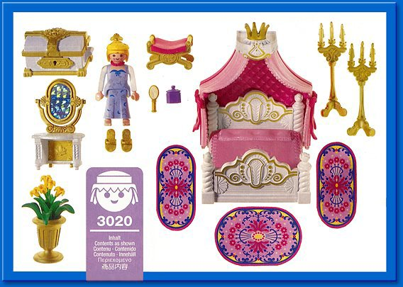 Blog de boblebrestois playmobil page 36 blog de boblebrestois les notices playmobil for Playmobil chambre princesse