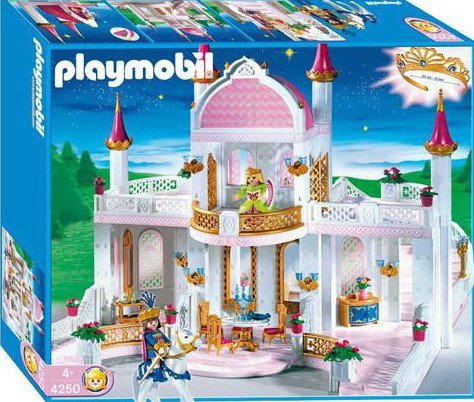 chateau playmobil princesse amazing with chateau. Black Bedroom Furniture Sets. Home Design Ideas