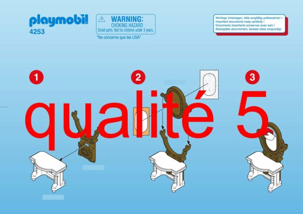 Articles De Boblebrestois Playmobil Tagges Notice Playmobil 4253