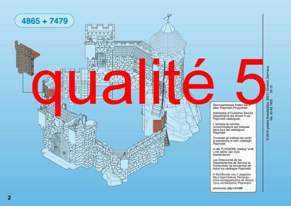 4b Special Histoire Moyen Age Château Fort 7479 Mur D Extension