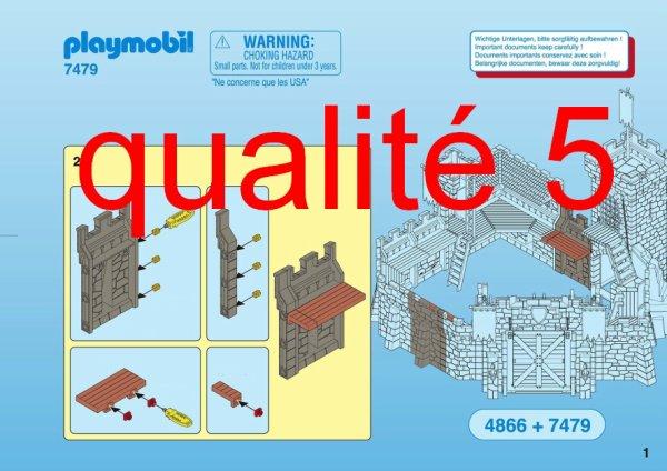 Articles De Boblebrestois Playmobil Taggés Notice Playmobil 4865