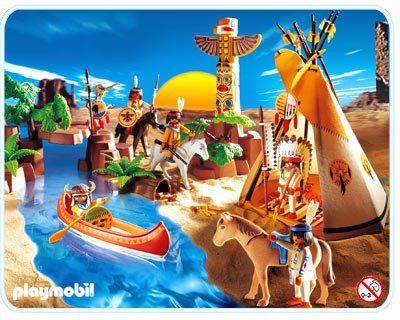 7f special histoire tribus d 39 indiens 3250 tribu indienne for Playmobil 4865 prix