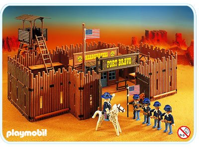Playmobil fort brave instructions.