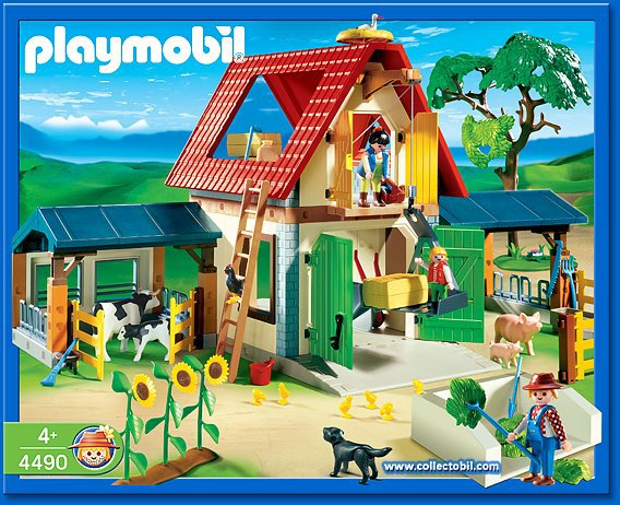 notice montage ferme playmobile. Black Bedroom Furniture Sets. Home Design Ideas