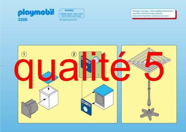 Articles de boblebrestois playmobil tagg s notice for Playmobil buanderie