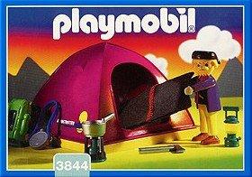 11b Special Vacance Le Camping Son Univers 3844 Randonneur Tente Blog De Boblebrestois Les Notices Playmobil