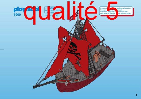 Articles de boblebrestois playmobil tagg s notice playmobil 3900 blog de boblebrestois les - Playmobil bateau corsaire ...