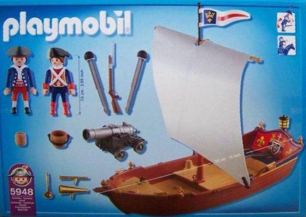 Blog de boblebrestois playmobil page 50 blog de boblebrestois les notices playmobil - Playmobil bateau corsaire ...