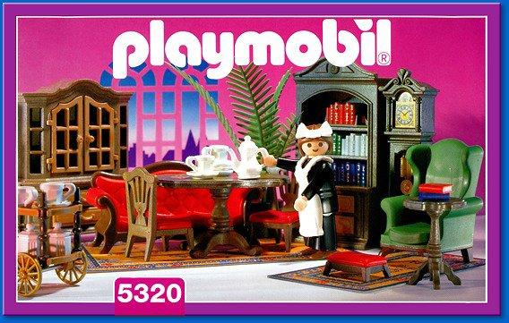 8b special maison personnage quipement int rieur for Playmobil salon de coiffure