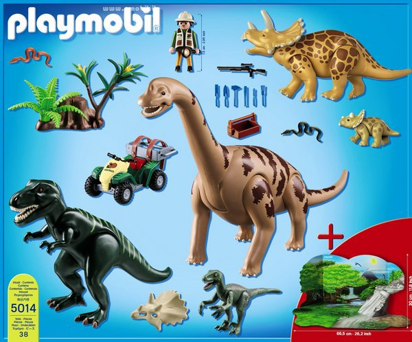 Blog de boblebrestois playmobil page 12 blog de - Dinosaur playmobile ...