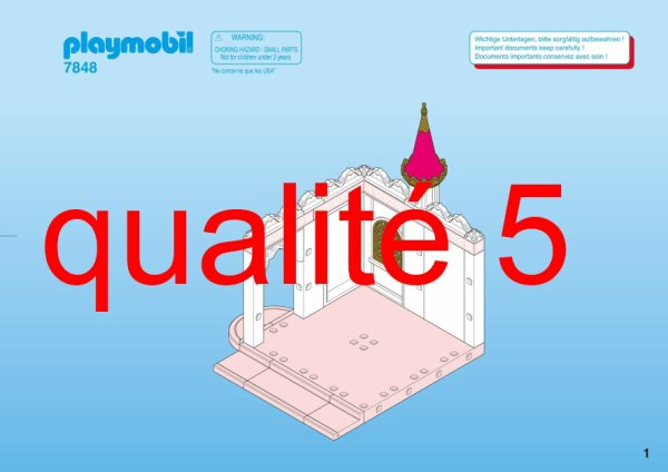Articles de boblebrestois playmobil tagg s notice for Chateau playmobil princesse 4250