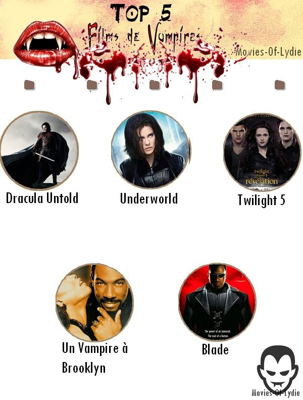 Top 5 - Vampires