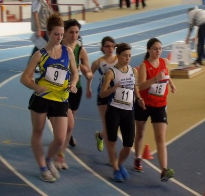 ile de france de marche a Eaubonne 3000m en salle le 19 février 2012