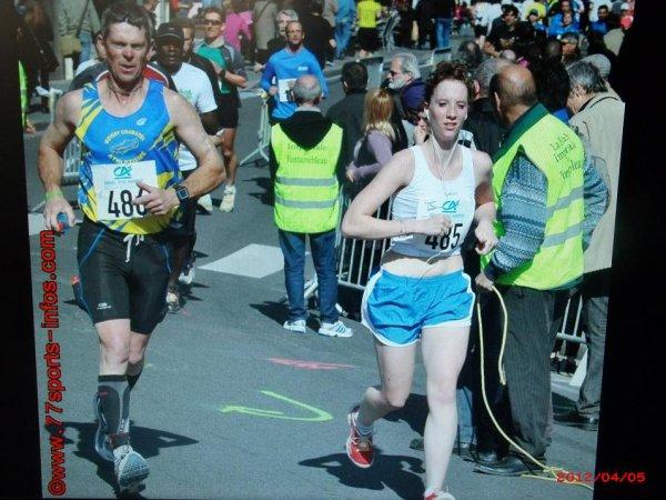 semi marathon de fontainebleau du 1 er avril 2012