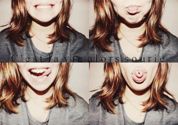 Un sourire c'est bien mais un milliard de sourires c'est cent fois mieux pour moi ♥