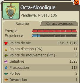 Octa-Alcoolique commence a prendre forme !
