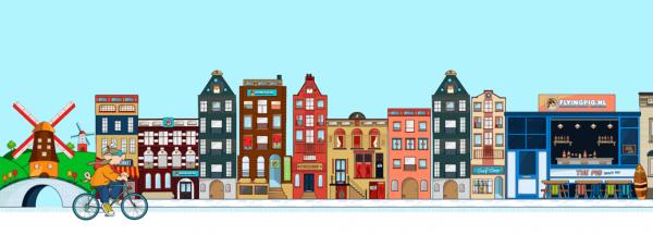 Les Pays-Bas, là où les gens sont grands (très) mais les maisons petites