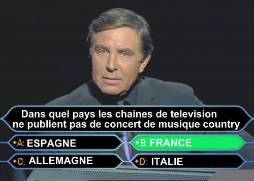 POURQUOI LES CHAINES DE TÉLÉ FRANÇAISES BOYCOTTENT LA COUNTRY ?